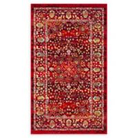 Safavieh Cherokee 4' x 6' Kewanne Rug in Red