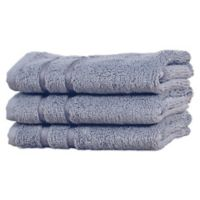 Cariloha® Viscose Made from Bamboo Fingertip Towel in Blue Lagoon (Set of 3)