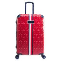 Tommy Hilfiger® Starlight 24-Inch Hardside Spinner Checked Luggage in Red