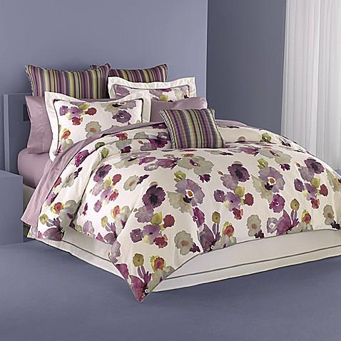 Wamsutta floral reflections full comforter set bed bath for Full bath set