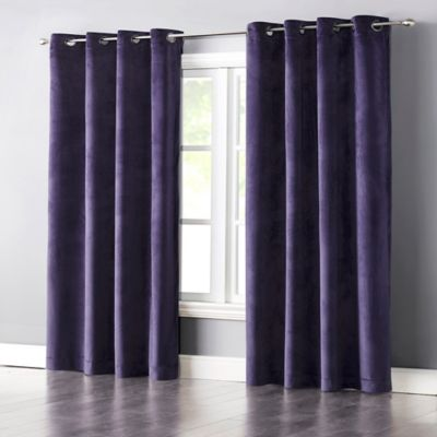 Top Buy Velvet Curtains from Bed Bath & Beyond GZ69