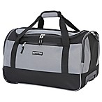 Traveler's Club® XPedition™ 20-Inch Rolling Duffle Bag in Black/Grey