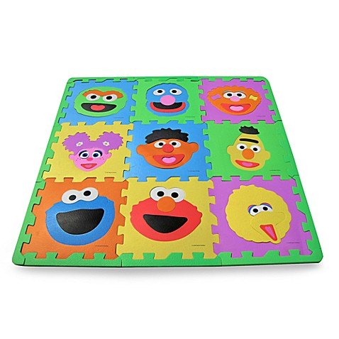 Sesame Street Make A Face Floor Mat Buybuy Baby