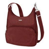 Travelon® Anti-Theft Classic Essential Messenger Bag in Wine