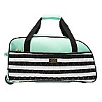 Macbeth Collection® by Margaret Josephs Madison 21.5-Inch Expandable Duffle Bag in Green
