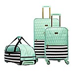 Macbeth Collection® by Margaret Josephs Madison 3-Piece Expandable Luggage Set in Green