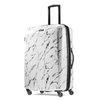 American Tourister® 28-Inch Moonlight Hardside Spinner Checked Luggage in Marble