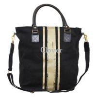 CB Station Flight Travel Bag in Black/Gold