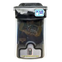 Aquavault® Waterproof Phone Pouch in Black