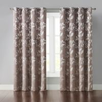 Wonder Home Veronica 95-Inch Grommet Room Darkening Window Curtain Panel in Grey