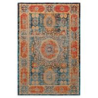 Surya Amsterdam 2' x 3' Handwoven Accent Rug in Classic Bright Blue