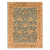 Surya Hillcrest 8' x 11' Area Rug in Teal/Rust