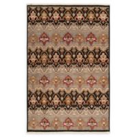 Surya Cambridge Medallion 5'6 x 8'6 Hand Knotted Area Rug in Medium Grey
