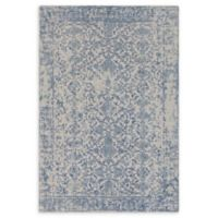 Surya D'Orsay Floral Medallion 2' x 3' Accent Rug in Ivory/Light Grey