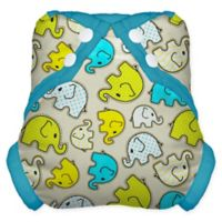 Tidy Tots® Snap Diaper Cover in Elephant