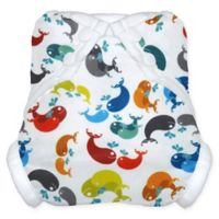 Tidy Tots® Snap Diaper Cover in Whale