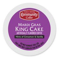 KeurigR K CupR Pack 18 Count Community CoffeeR Mardi Gras King