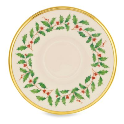 Lenox® Holiday™ Saucer  sc 1 st  Bed Bath \u0026 Beyond & Buy Lenox® Holiday™ from Bed Bath \u0026 Beyond