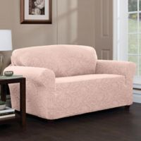 Stretch Sensations Stretch Floral Loveseat Slipcover