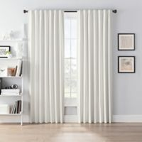 SmartBlock™ Chroma 95-Inch Rod Pocket 100% Blackout Window Curtain Panel in Ivory