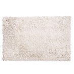 "Home Dynamix 24"" x 40"" Plush Oversized Bath Rug in Ecru"
