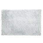 "Home Dynamix 24"" x 40"" Plush Oversized Bath Rug in Spa Blue"