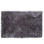 "Home Dynamix 24"" x 40"" Plush Oversized Bath Rug  in Grey"