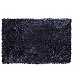 "Home Dynamix 24"" x 40"" Plush Oversized Bath Rug in Denim"