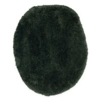 Wamsutta® Ultra-Soft Elongated Toilet Lid Cover in Midnight Green