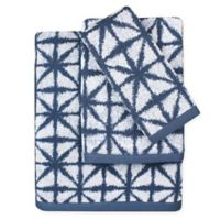 Lummi Hand Towel in Navy