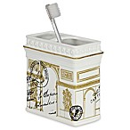 CHF Industries Paris Gold Toothbrush Holder