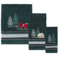 Evergreen Hand Towel