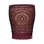 Popular Bath Cascade Wastebasket in Burgundy