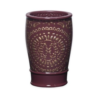 Por Bath Cascade Tumbler In Burgundy