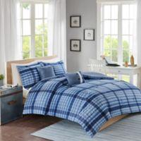 Intelligent Design Rowan Full/Queen Comforter Set in Blue