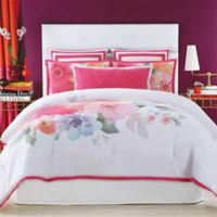 Christian Siriano Bold Floral Full/Queen Comforter Set