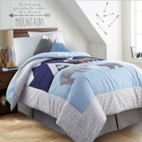 Levtex Home Trail Mix Twin Quilt Set in Blue