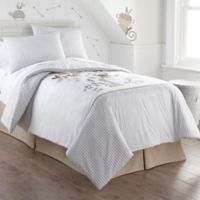 Levtex Home Kenya Twin Quilt Set in Taupe/White