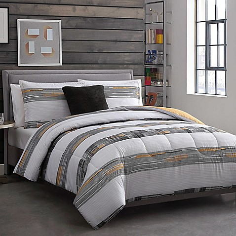 image of Decker Reversible Comforter Set