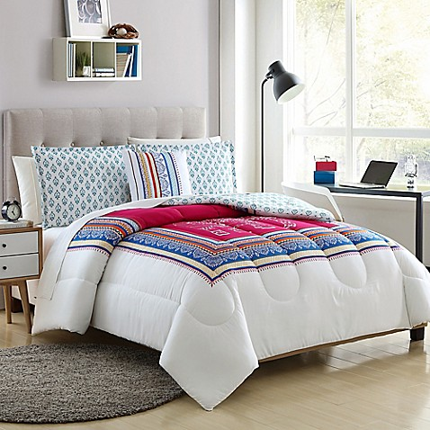 image of Elephant Reversible Comforter Set