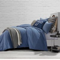 Style Co-Op Jersey Blue Jean Full/Queen Comforter Set