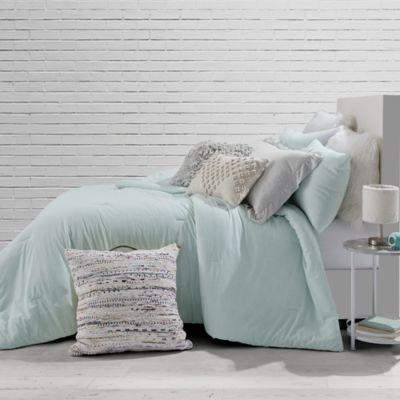 Style Co Op Solid Jersey Full Queen Comforter Set In Mint