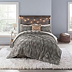 Anthology™ Chevron Tufted Twin/Twin XL Comforter Set in Grey