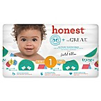 Honest Limited Edition 44-Count Size 1 Diapers in Adventurer Pattern