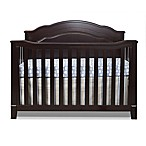 Sorelle Berkley 4-in-1 Convertible Cloud Top Panel Crib in Espresso