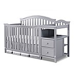 Sorelle Berkley 4-in-1 Convertible Crib and Changer in Grey
