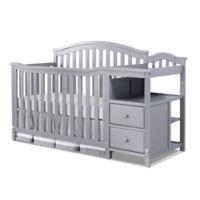 Sorelle Berkley 4-in-1 Convertible Crib and Changer in Grey