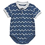 Sovereign Code™ Size 6-9M Wave Polo Bodysuit in Navy