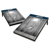 University of Akron Rustic-Look Tailgate Toss Cornhole Set