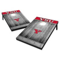 Youngstown State University Rustic-Look Tailgate Toss Cornhole Set